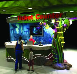 Fun Land-Ticket Counter